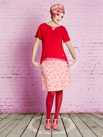 Alberta´s / Red Blouse / T-shirt / du Milde